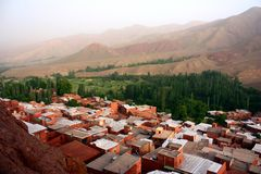 Houses of Abyaneh Royalty Free Stock Photography