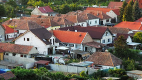 Houses - aerial view, Slovakia Stock Images