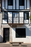 Houses of Ainhoa Royalty Free Stock Photos