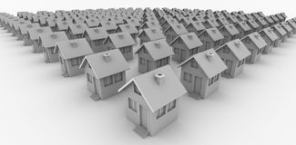 Houses for all Royalty Free Stock Image