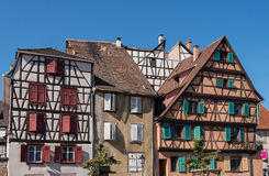 Houses in Alsace Royalty Free Stock Photo