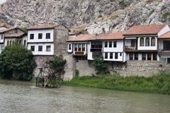 Houses in Amasya Stock Image
