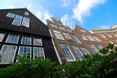 Houses in Amsterdam Stock Images