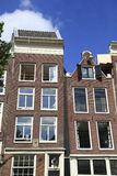 Houses in Amsterdam, Holland Stock Photos