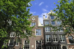 Houses in Amsterdam, Holland Stock Photo