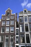 Houses in Amsterdam, Holland Stock Images