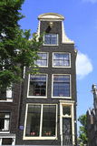 Houses in Amsterdam, Holland Royalty Free Stock Photo