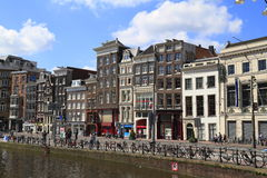 Houses in Amsterdam, Holland Royalty Free Stock Image
