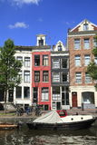 Houses in Amsterdam, Holland Stock Photography