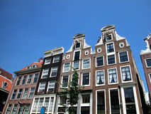 Houses in Amsterdam, Netherlands Royalty Free Stock Image