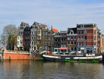 Houses of Amsterdam, Netherlands Stock Photo
