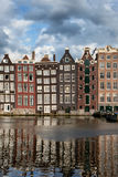 Houses in Amsterdam Royalty Free Stock Photos