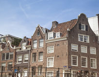 Houses in Amsterdam Royalty Free Stock Images