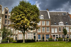 Houses in Amsterdam Royalty Free Stock Photography