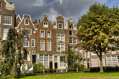 Houses in Amsterdam Royalty Free Stock Photo