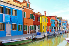 Houses And Boats Royalty Free Stock Photography