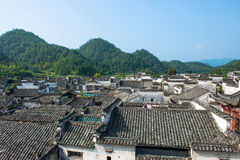 Houses in Anhui Hongcun Royalty Free Stock Photography