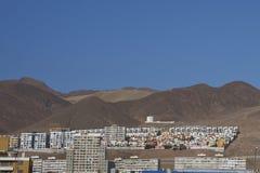 Houses in Antofagasta, Chile Stock Photos