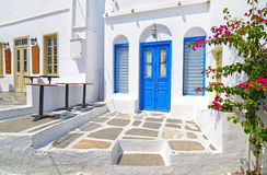 Houses at Apollonia Sifnos Greece royalty free stock images