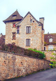 Houses in Aquitaine Royalty Free Stock Photos