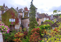 Houses in Aquitaine Stock Images