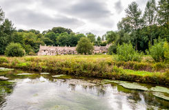 Houses of Arlington Row in the village of Bibury Stock Photos