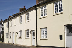 Houses in Arundel. West Sussex. UK royalty free stock images