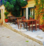 Houses in Athens Royalty Free Stock Photo