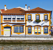 Houses of Aveiro royalty free stock photos