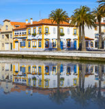 Houses of Aveiro Stock Images