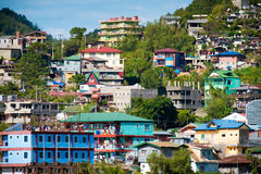 Houses in Baguio Royalty Free Stock Images