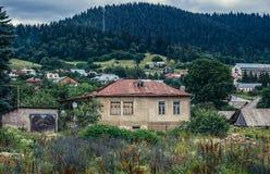 Houses in Bakuriani Royalty Free Stock Image