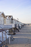 Houses on beach Royalty Free Stock Photos
