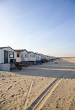 Houses on beach Stock Photos