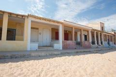 Houses at beach Stock Photos