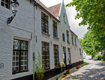 Houses in the Beguinage Bruges / Brugge, Belgium Stock Photo