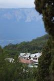 houses berg Fotografering för Bildbyråer