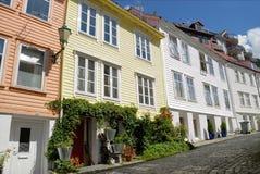 Houses in Bergen Stock Image