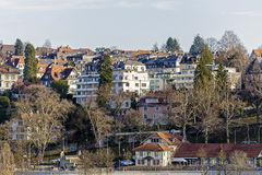 Houses in Bern Royalty Free Stock Photography