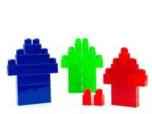 Houses Of Blocks Royalty Free Stock Image