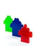 Houses Of Blocks Stock Image