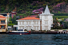 The houses in Bosphorus Royalty Free Stock Photography