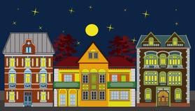 houses bostadstre Royaltyfri Bild