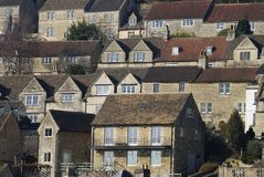 Houses at Bradford on Avon. UK Stock Photo