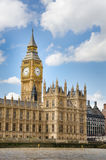 Houses of the British Parliament and Big Ben Royalty Free Stock Images