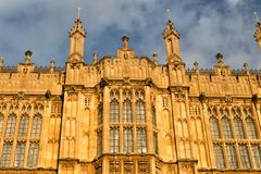 Houses of British Parliament Stock Photo