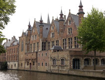Houses in Bruges, Belgium Stock Images