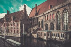 Houses in Bruges, Belgium Stock Photo
