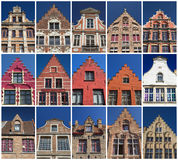 Houses of Bruges Stock Image