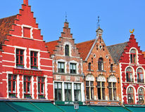Houses of Brugge Royalty Free Stock Images